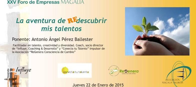 Charla sobre Talento en XXV Foro Empresas de Magalia