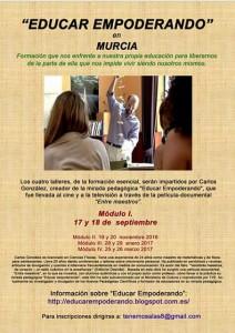 E.E en Murcia - Septiembre 2016